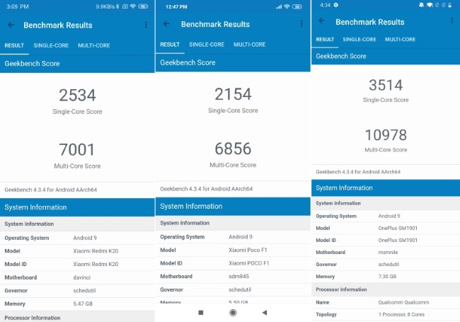 Snapdragon 730 vs Snapdragon 845: Specifications and