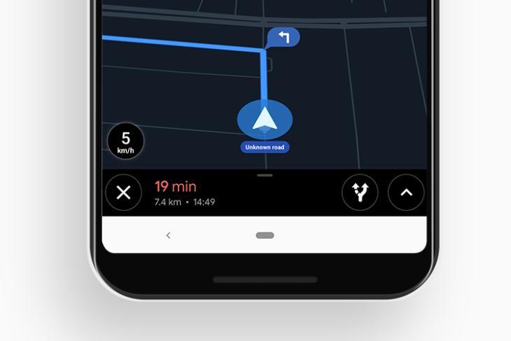 google maps speedometer