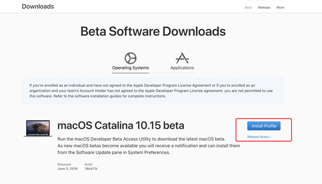 How to Install macOS 10.15 Beta on Your Mac