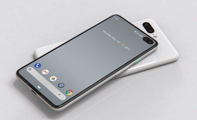 pixel 4 phone designed