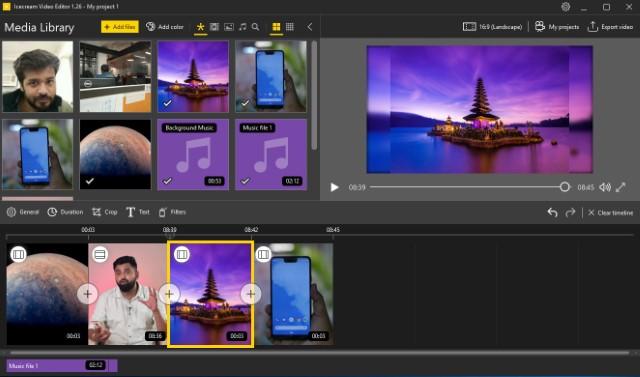 Icecream Video Editor: Lightweight and Free Video Editor | Beebom