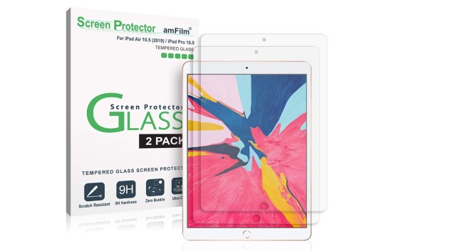 1. amFilm Glass Screen Protector for iPad Air 3 (2019)