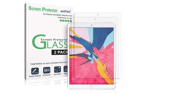 1. amFilm Glass Screen Protector for iPad Air 3 (2019)