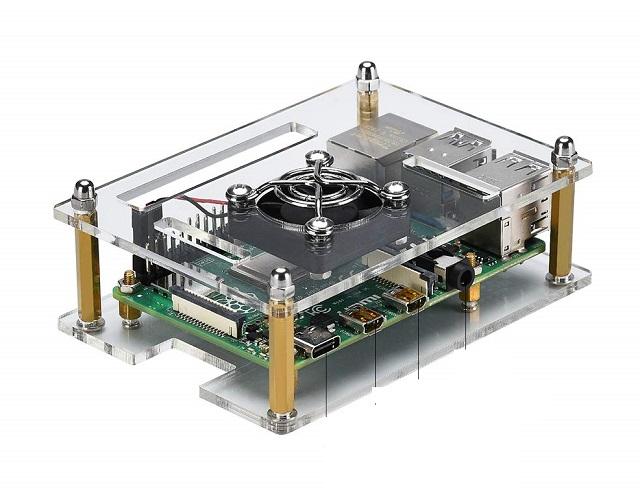 2. iUniker Raspberry Pi 4 Case