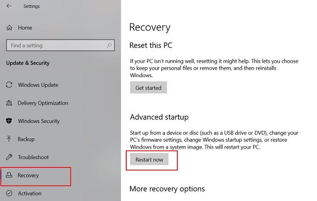 3. Downgrade Windows 10 to the Previous Build