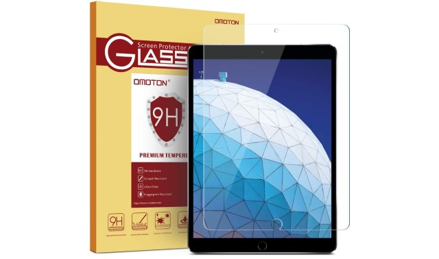 6. OMOTON Screen Protector for iPad Air 3 (2019)