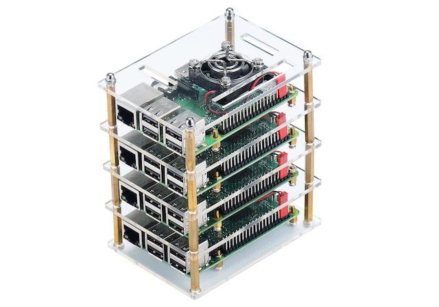 6. Uniker Raspberry Pi 4 Cluster Case