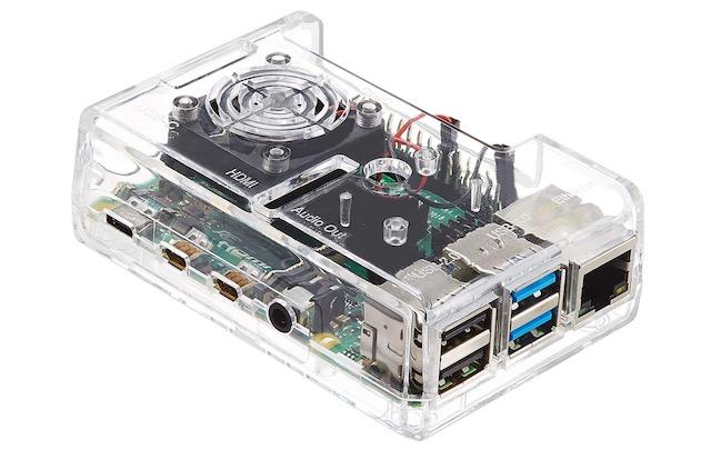 7. Vilros Raspberry Pi 4 Compatible Case