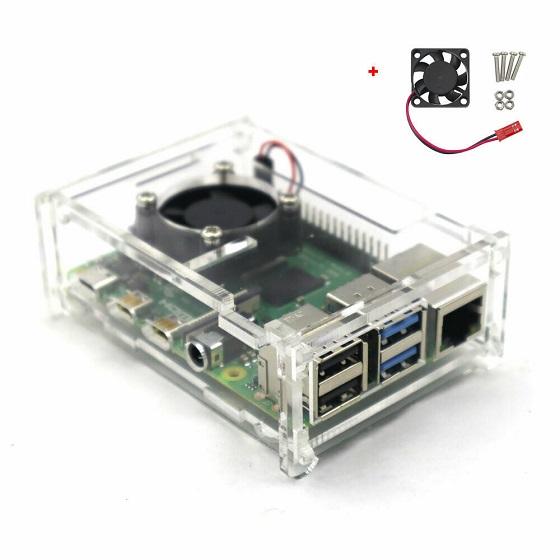 8. Fysho Raspberry Pi 4 Case