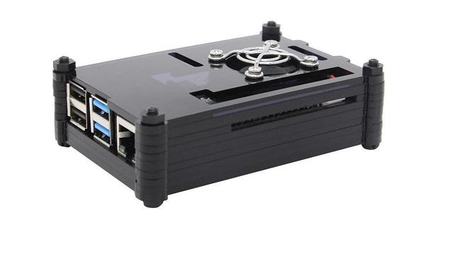 9. Raspberry Pi 4 Model B Case
