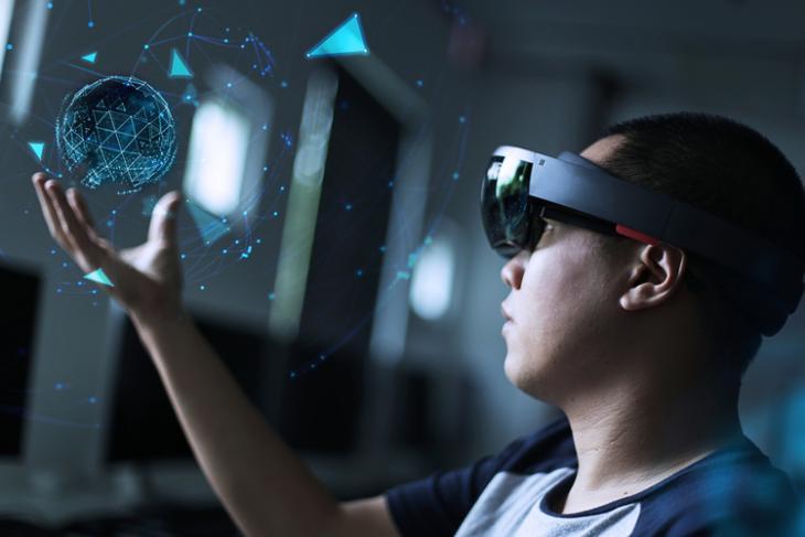 AR augmented reality shutterstock website
