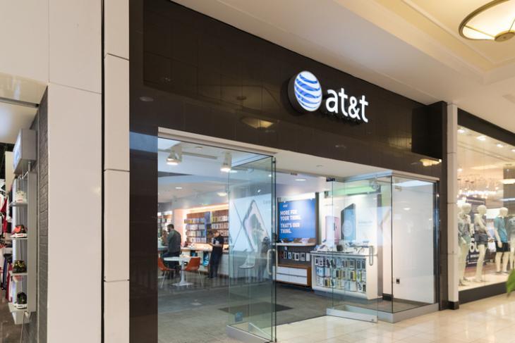 AT&T logo shutterstock website
