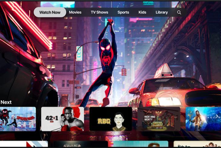 Apple TV+ website