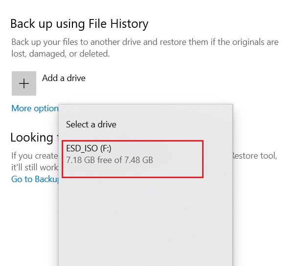Back Up Important Files Using File History 3