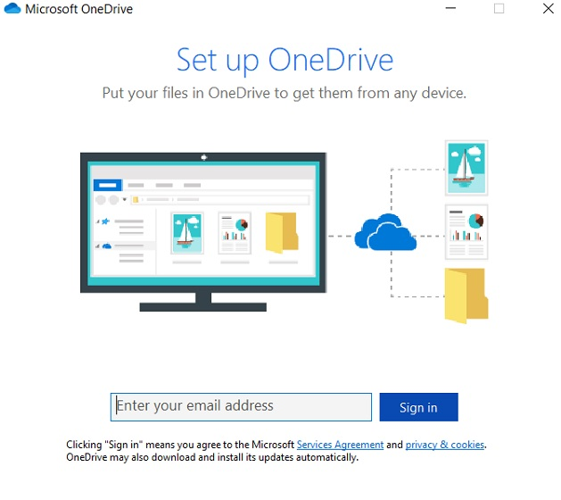 Back Up with OneDrive 2