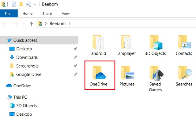 Back Up with OneDrive 3