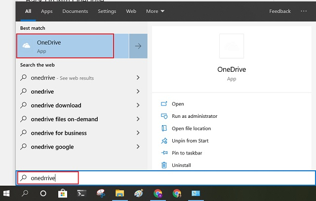 Back Up with OneDrive