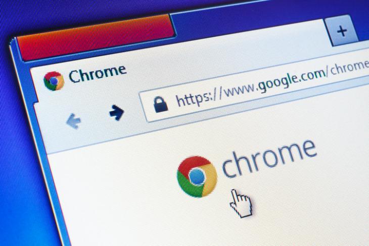 Chrome shutterstock website
