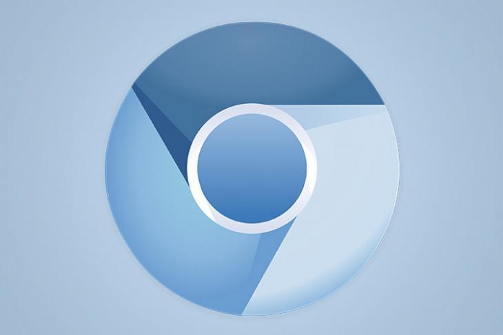 Chromium logo website
