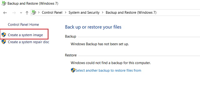 Create a Full Windows 10 Backup with Backup and Restore 2
