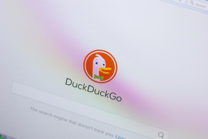 DuckDuckGo shutterstock website