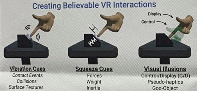 This Facebook VR Wristband Lets You 'Touch' Virtual Objects