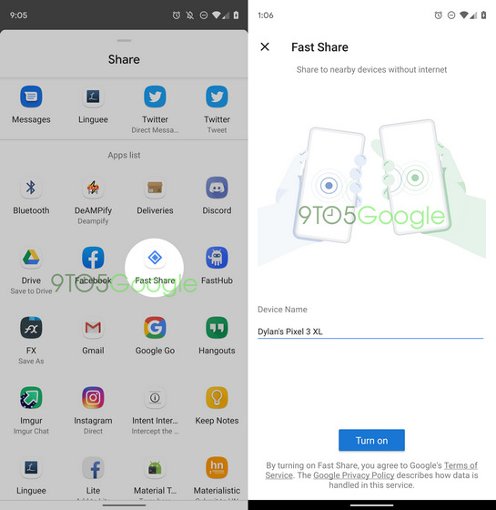 Android to Get AirDrop-like File Sharing Feature 'Fast Share' Soon