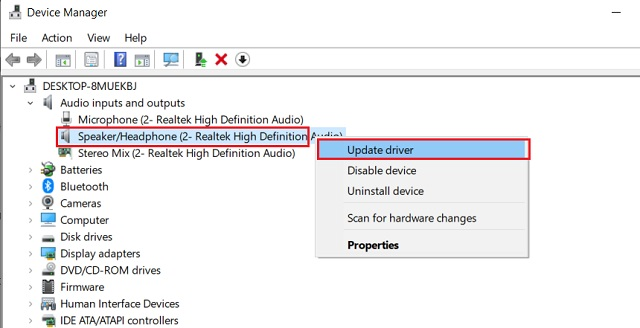 Fix Realtek HD Audio Manager Missing Error 2