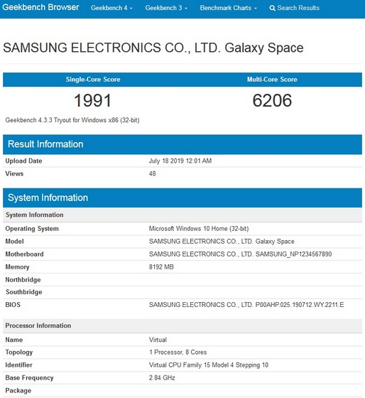 Samsung Galaxy Book S Might Launch Alongside the Galaxy Note 10