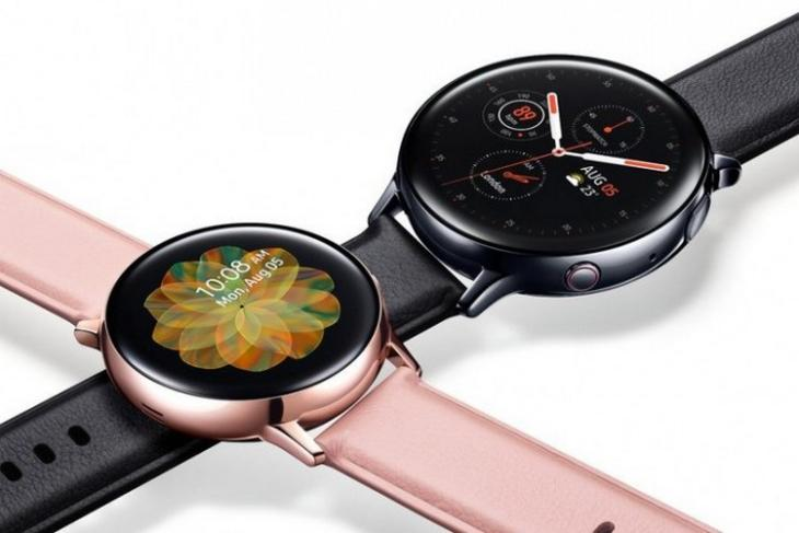 Galaxy Watch Active 2 website