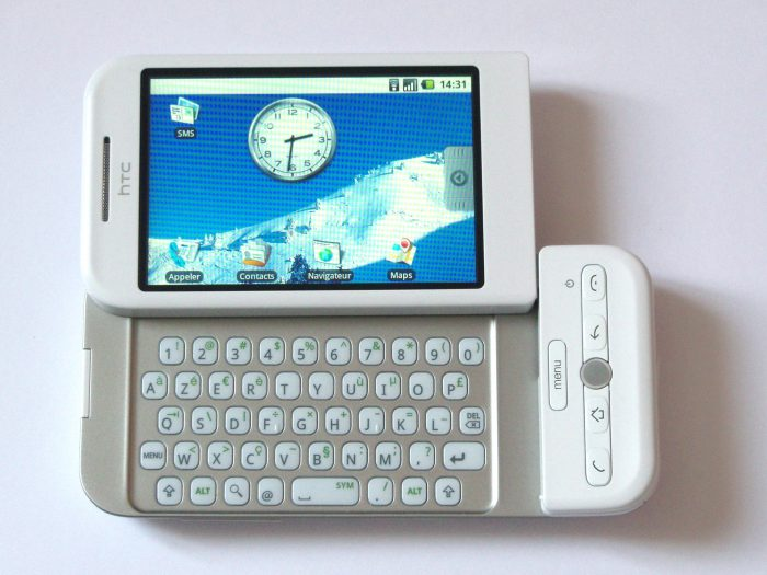 first android phone - htc dream