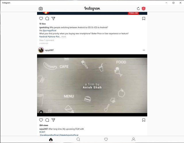 Instagram DM Online on Windows PC