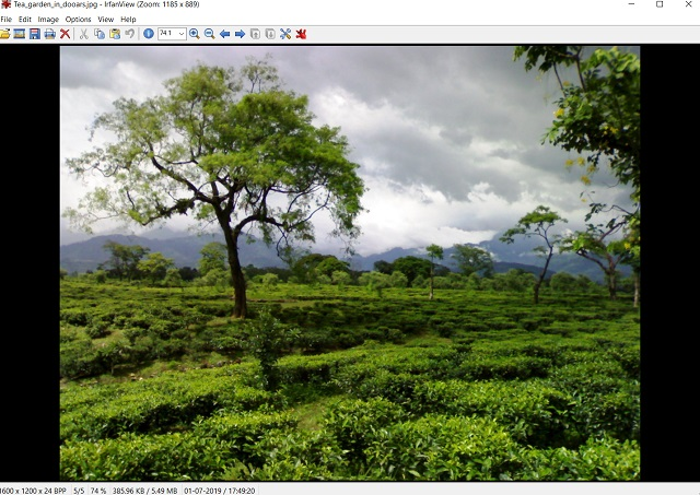 Best Windows Photo Viewer Alternatives : IrfanView