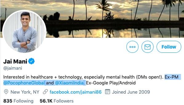 Poco Head and Xiaomi's Global Spokesperson Leave Company