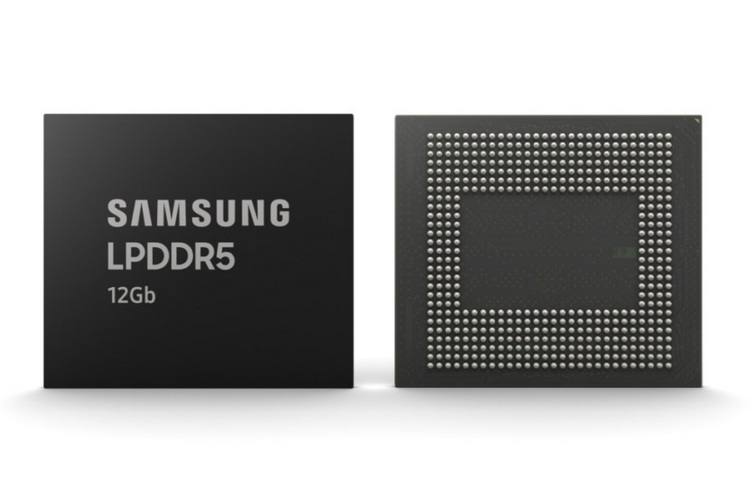 Samsung starts to mass produce 12Gb LPDDR5 Mobile DRAM