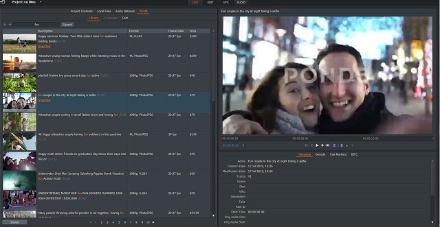 Lightworks video editor