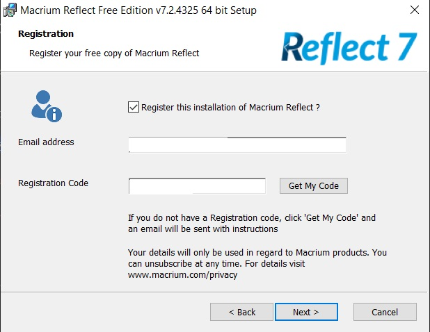 Macrium Reflect Free 2