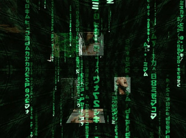 Matrix screen saver