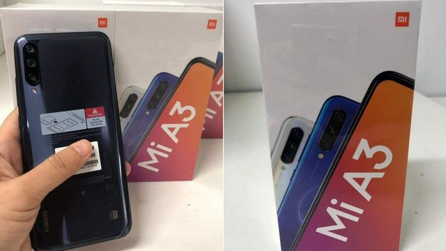 Mi A3 Leaked Images Suggest Snapdragon 665, Triple Rear Cameras