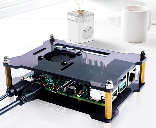 Miuzei Raspberry Pi 4 Case