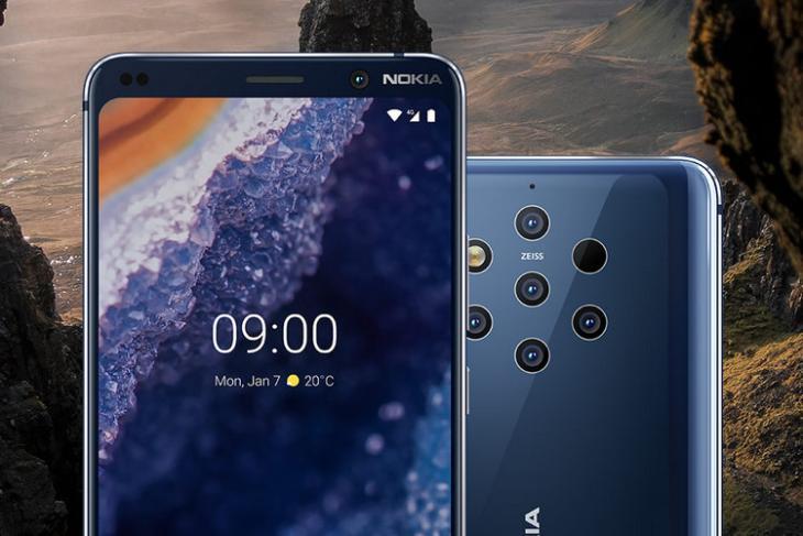 Nokia 9 Pureview website