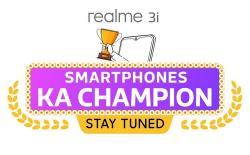 Realme 3i teaser website