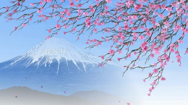 Spring of Japan Windows 10 screensaver