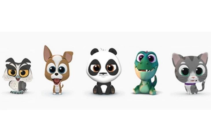 SwiftKey Puppets website