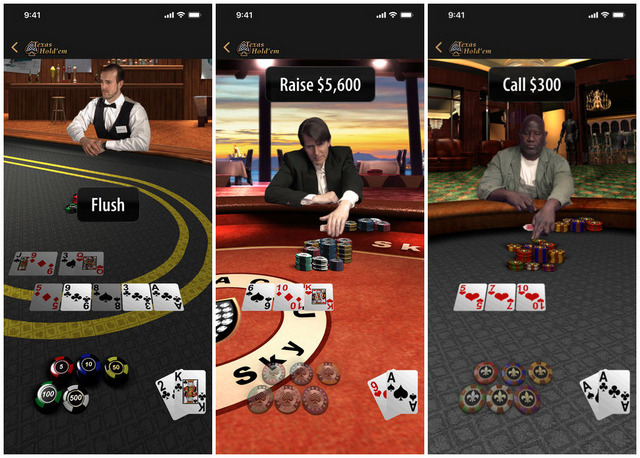 Apple Relaunches Classic iOS Game 'Texas Hold'em' on the App Store