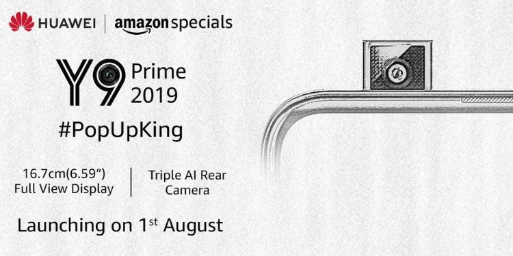 Huawei Y9 Prime (2019) teaser