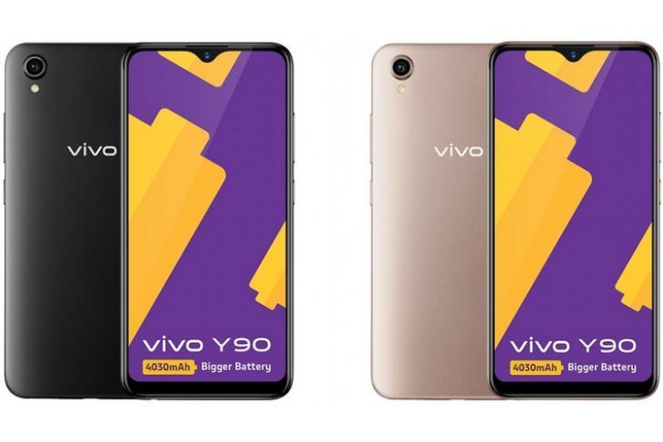 Vivo Y90 website