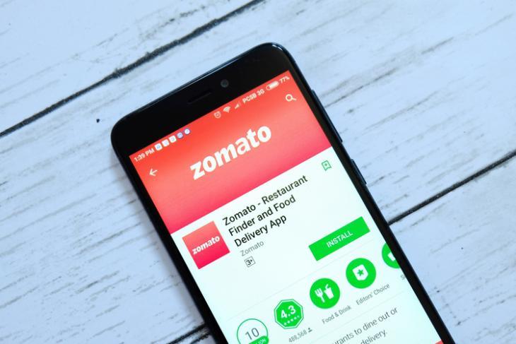 Zomato logo shutterstock website