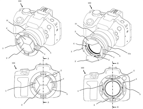 Canon Has Patented a Lens Cap You Just Can't Lose