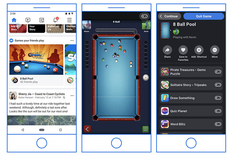 Facebook Games are Moving from Messenger to the Facebook App
